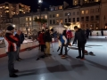 G.K.C. FEB FEST 2019 Visitors enjoy personalized curling tutorials at Kingston's downtown Market Square ice rink.