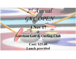 GKC Open @ Garrison Golf and Curling Club